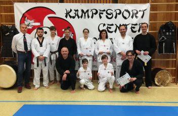 Gürtelprüfung Januar 2019 Bojitsu Taekwondo